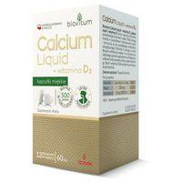 Biovitum Calcium Liquid + witamina D3 x 120 kapsułek