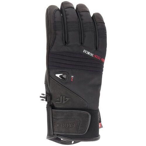 Rękawice narciarskie męskie REM152 - głęboka czerń