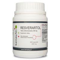 Kapsułki Resweratrol trans - zmikronizowany 200 mg (300 kapsułek)
