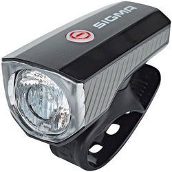 SIGMA SPORT Aura 40 Oświetlenie USB czarny/przezroczysty 2018 Oświetlenie rowerowe - zestawy
