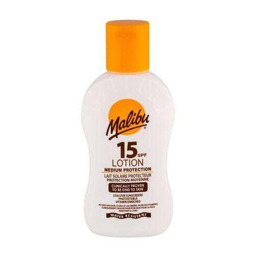 Malibu lotion spf15 preparat do opalania ciała 100 ml unisex - Świetna promocja