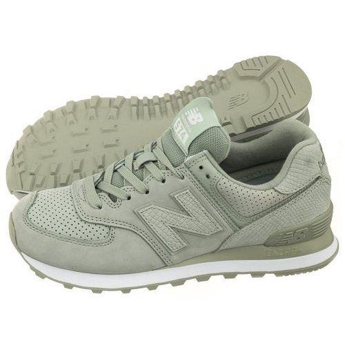 Sneakersy New Balance WL574URV Zielone (NB251-b)