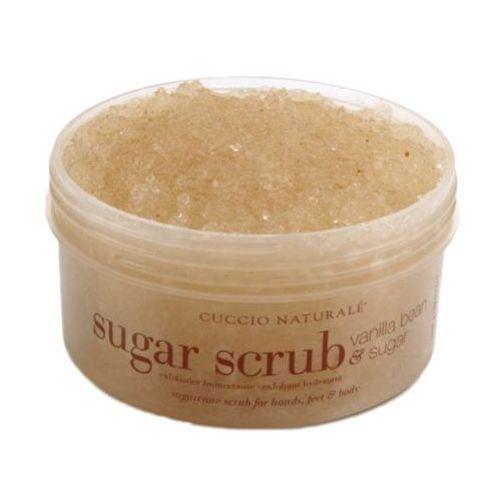 Cuccio sugar scrub vanilla bean & sugar peeling cukrowy do dłoni, stóp i ciała o zapachu waniliowym