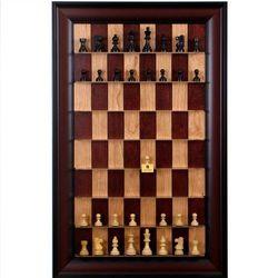 Logiczne myślenie Ekskluzywne pionowe szachy naścienne
