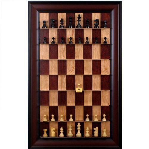 Ekskluzywne pionowe szachy naścienne