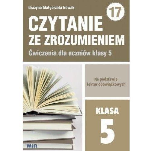 Czytanie ze zrozumieniem dla kl. 5 SP - Grażyna Małgorzata Nowak (70 str.)