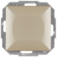 Abex Wyłącznik, włącznik schodowy wp-5p, satyna perła metalik (5907522003425)