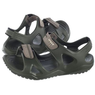 sandały crocs swiftwater river sandal m black