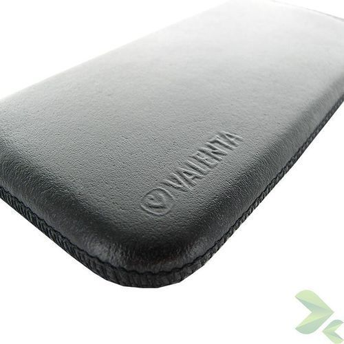 Rovens.pl Valenta Pocket Classic - Skórzane etui wsuwka Samsung Galaxy S5/S5 Neo, Sony Xperia Z i inne (czarny), kolor Valenta