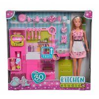 Lalka Steffi w kuchni (4006592040246)