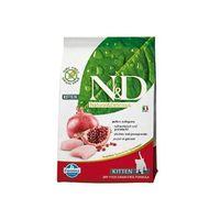 ND Grain Free Kitten 1,5kg Chicken Pomegranate Natural Delicious Farmina, 8010276032584