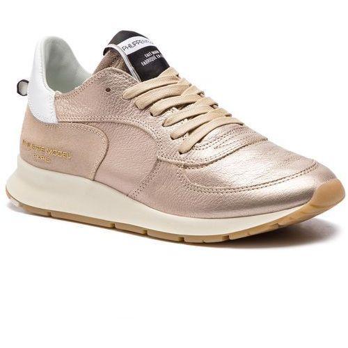 Philippe model Sneakersy - montecarlo ntlu m001 metal or rose
