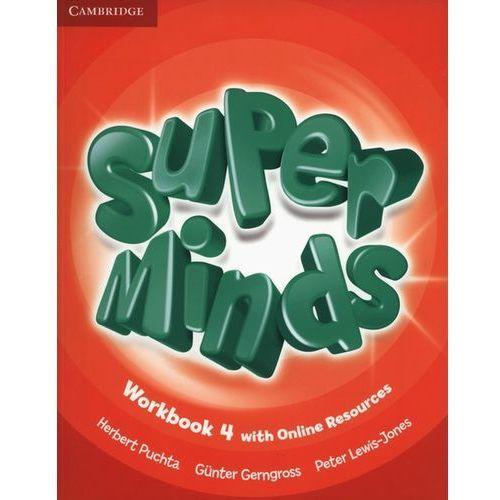Super Minds 4 Workbook +Online - Wysyłka od 4,99 - porównuj ceny z wysyłką (9781107483033)