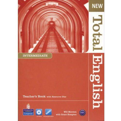 New Total English Inter.TB with Resource Disc, oprawa miękka