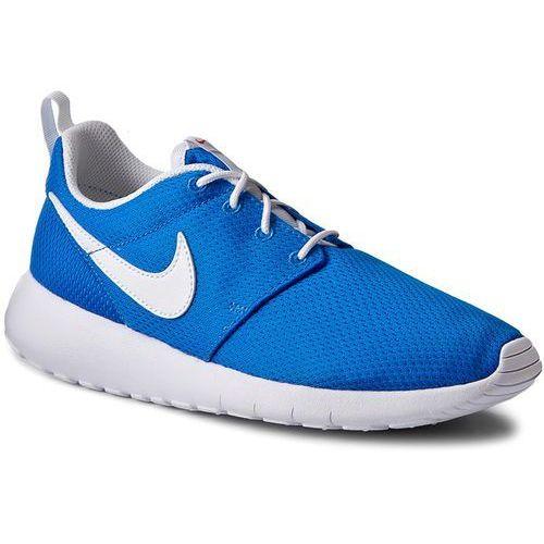 Nike Buty - roshe one (gs) 599728 422 photo blue/white/safety orange