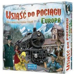 Rebel Wsiąść do pociągu: europa. gra planszowa