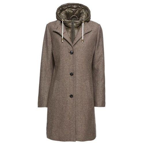 Płaszcz zimowy srebrno szary (S.Oliver RED LABEL)