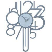 Zegar ścienny z wahadłem joseph  niebieski marki Calleadesign