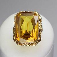 Złoty pierścionek P453
