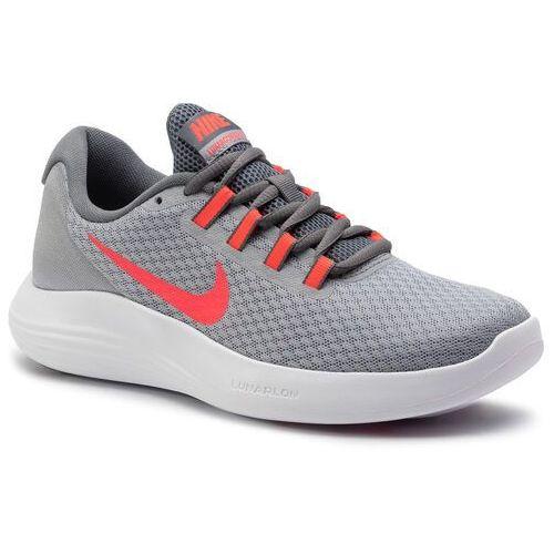 Buty - wmns nike lunarconverge 852469 009 wolf grey/solar red/cool grey marki Nike