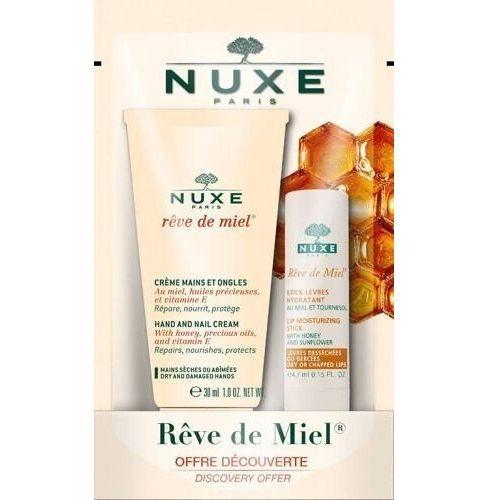 Reve de miel ultraodżywcza pomadka do ust 4g+krem do rąk i paznokci 30ml Nuxe - Rewelacyjny upust