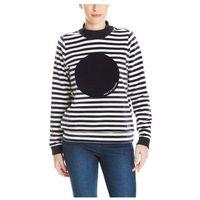 bluza BENCH - Striped Nikki Jumper Stripe Snow White+Essentially (P1156) rozmiar: S