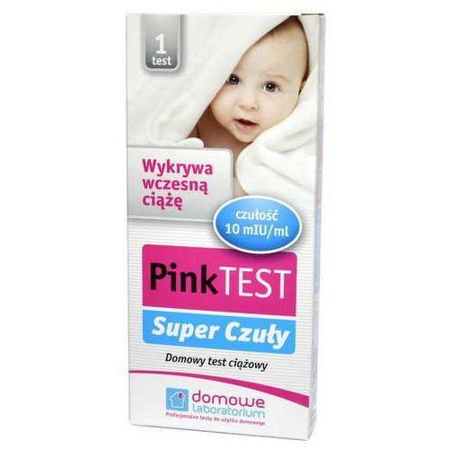 Hydrex Pink super czuły test ciążowy płytkowy x 1 sztuka