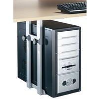 Uchwyt na komputer, podwieszany IPH002.S, do 15 kg, srebrno-szary
