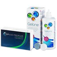 premium for astigmatism (6 soczewek) + płyn gelone 360 ml marki Topvue