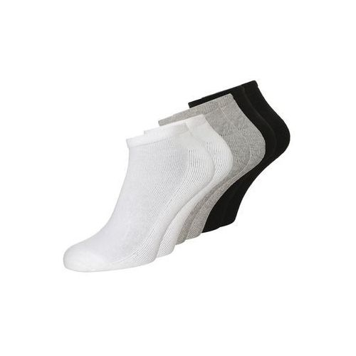 Calvin Klein Underwear BONUS LINER 6 PACK Skarpety white/oxford heather/black