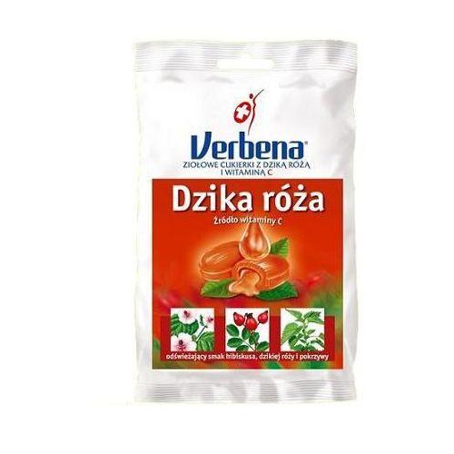 Verbena dzika róża cukierki ziołowe z vit.c 60g