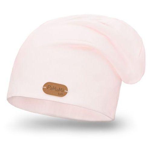 Wiosenna czapka - jasny róż - jasny róż marki Pamami