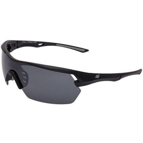 Okulary sportowe uniseks OKU100 - srebrny, kolor szary