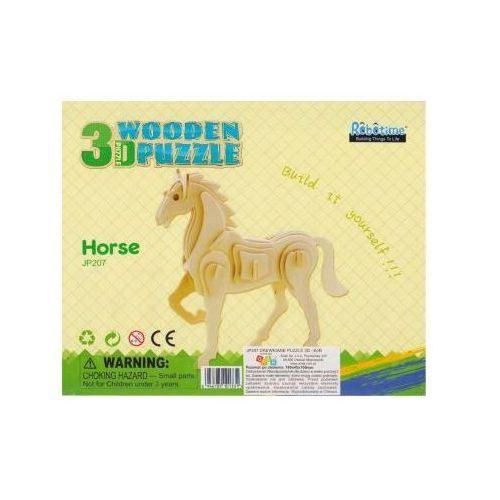 Puzzle drewniane 3D Koń 6946785101331