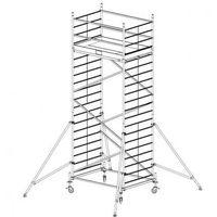 B2b partner Rusztowanie ruchome aluminiowe protec xxl 6,3 m