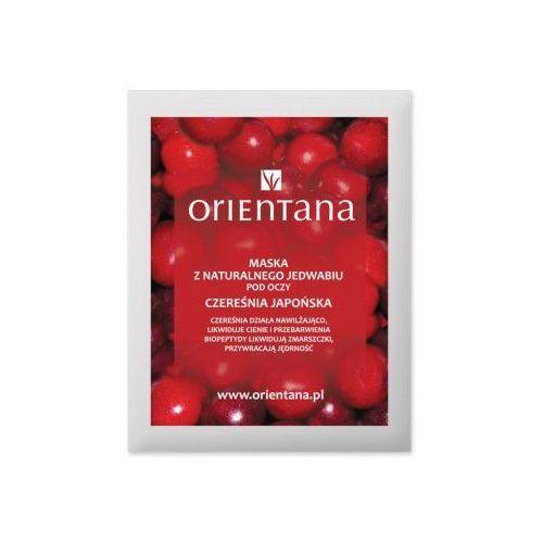 - maska tkaninowa pod oczy - czereśnia japońska marki Orientana - 2