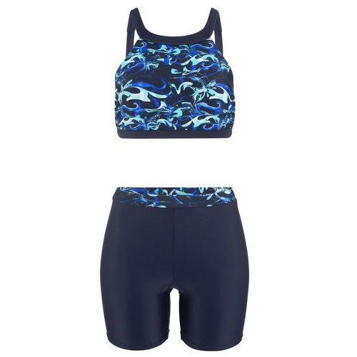 1e347239db59d0 Zobacz w sklepie Bonprix Bikini z biustonoszem bustier (2 części)  ciemnoniebiesko-niebieski