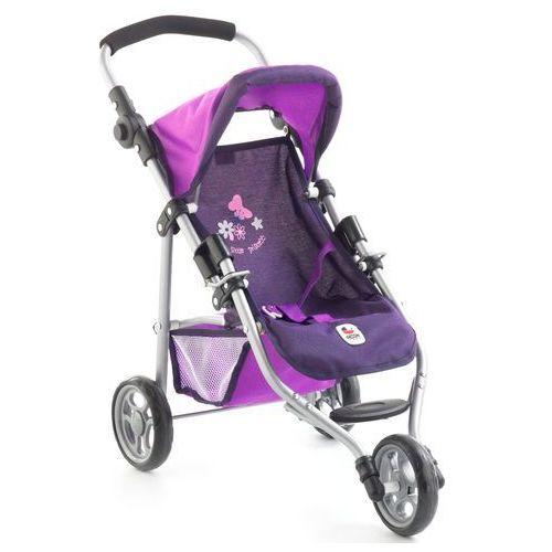 Bayer Chic Wózek dla lalek LOLA, fioletowy