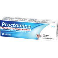 Proctomina żel chłodzący na hemoroidy 30g