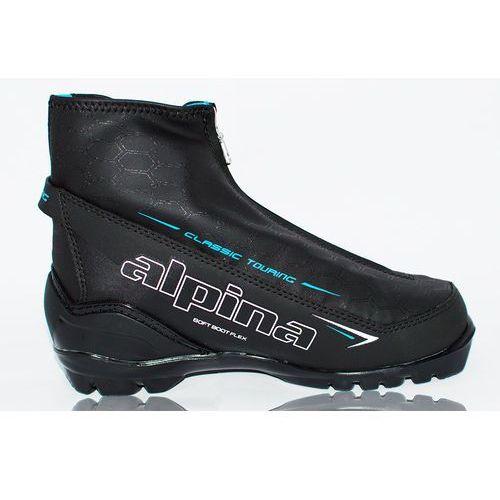 Alpina buty do narciarstwa biegowego T 20 Eve white/black/blue 37