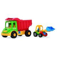 Multi truck ze spychaczem buggy marki Wader