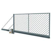 Brama przesuwna automatyczna  ofelia ocynk 4 0 x 1 5 m prawa marki Polbram steel group