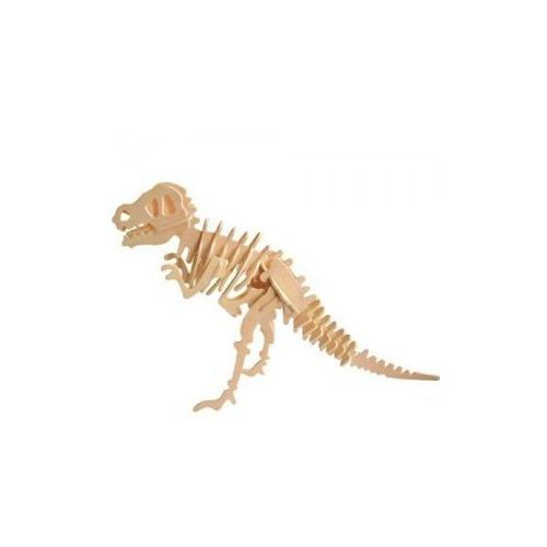 Puzzle drewniane 3D Dinozaur T Rex 6946785101294