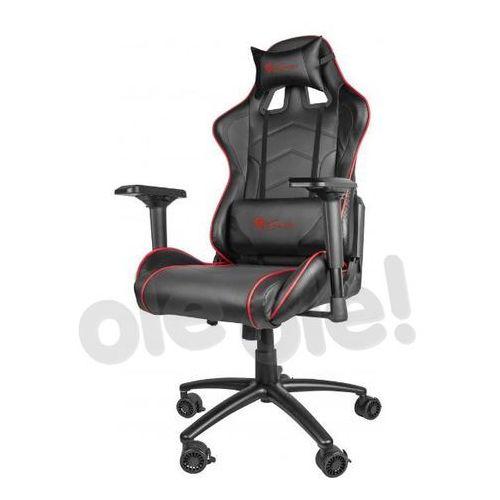Natec Genesis fotel dla gracza nitro 880 czarny nfg-0911 - odbiór w 2000 punktach - salony, paczkomaty, stacje orlen