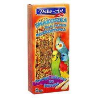 Dako-art smakoszka - kolby biszkoptowe dla papug falistych 2szt. (5906554351153)