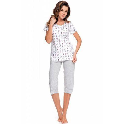 8ec7cc7b49d968 Dobranocka piżama damska pm 9004 ecru (Dn-nightwear) opinie + ...