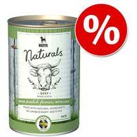 Bozita naturals pate, 6 x 625 g w super cenie! - wołowina