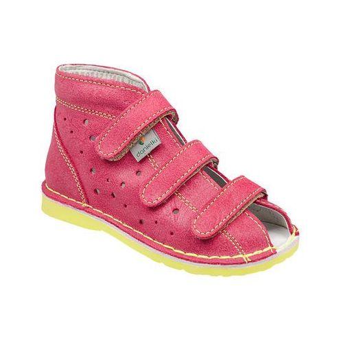 Kapcie profilaktyczne buty DANIELKI TA125 TA135 Fuksja Żółty - Fuksja   Różowy   Żółty   Multikolor