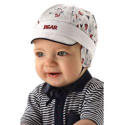Czapka niemowlęca z daszkiem 5x34bv marki Marika