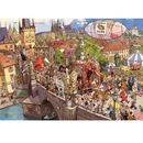 Puzzle 2000 elementów Szalona parada